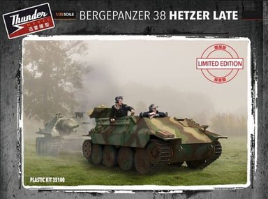Bergepanzer 38 Hetzer late  -LIMITED EDITION- 1/35