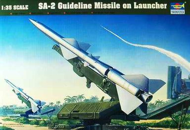 1/35 Trumpeter SA-2 Guideline Missile on Launcher