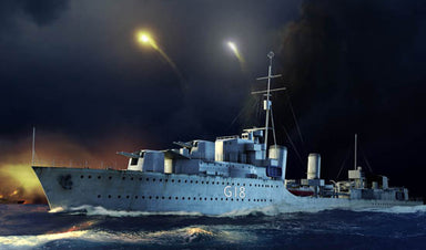 1/350 Trumpeter HMS Zulu Destroyer 1941
