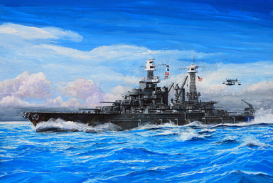 1/700 Trumpeter USS Maryland BB-46, 1941