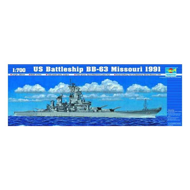 1/700 Trumpeter US Battleship BB-63 Missouri 1991