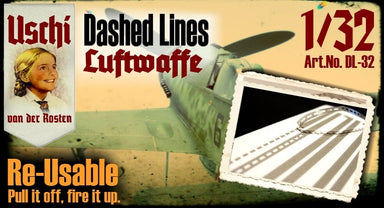 "Dashed Lines ""Luftwaffe"" masking set"