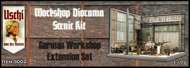 Workshop Diorama Scenic Kit Extension Set
