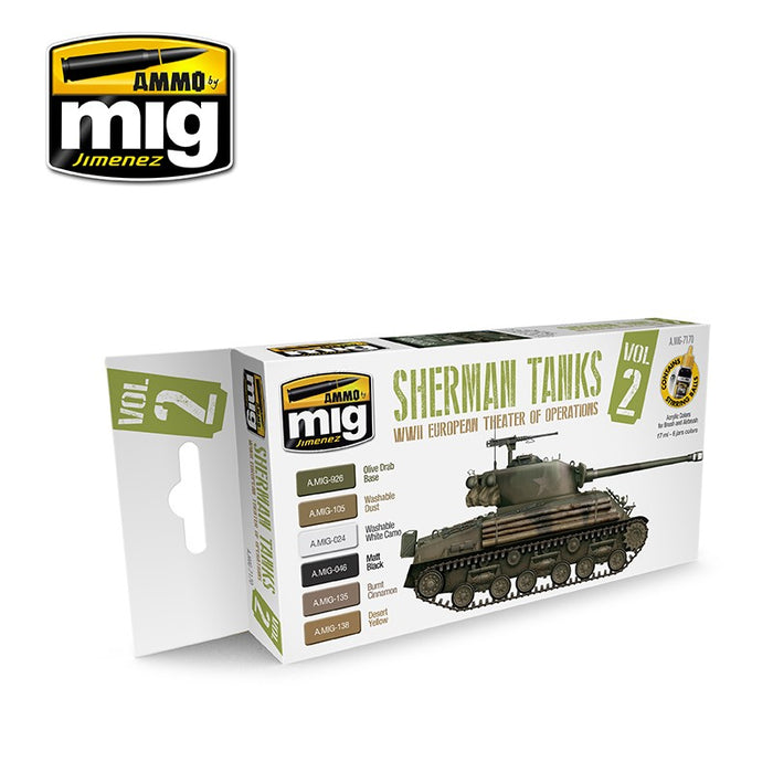 Sherman Tanks Vol. 2 (WWII European Theater)