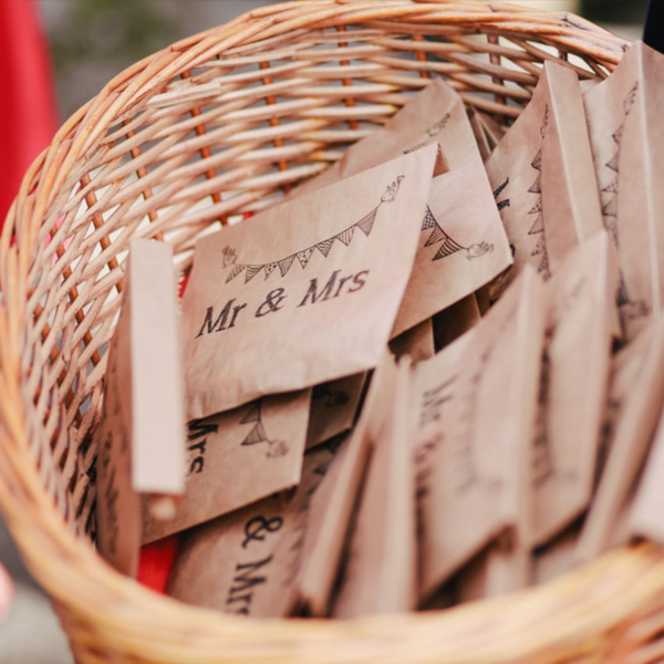 7 Eco-Friendly Alternatives To Wedding Confetti