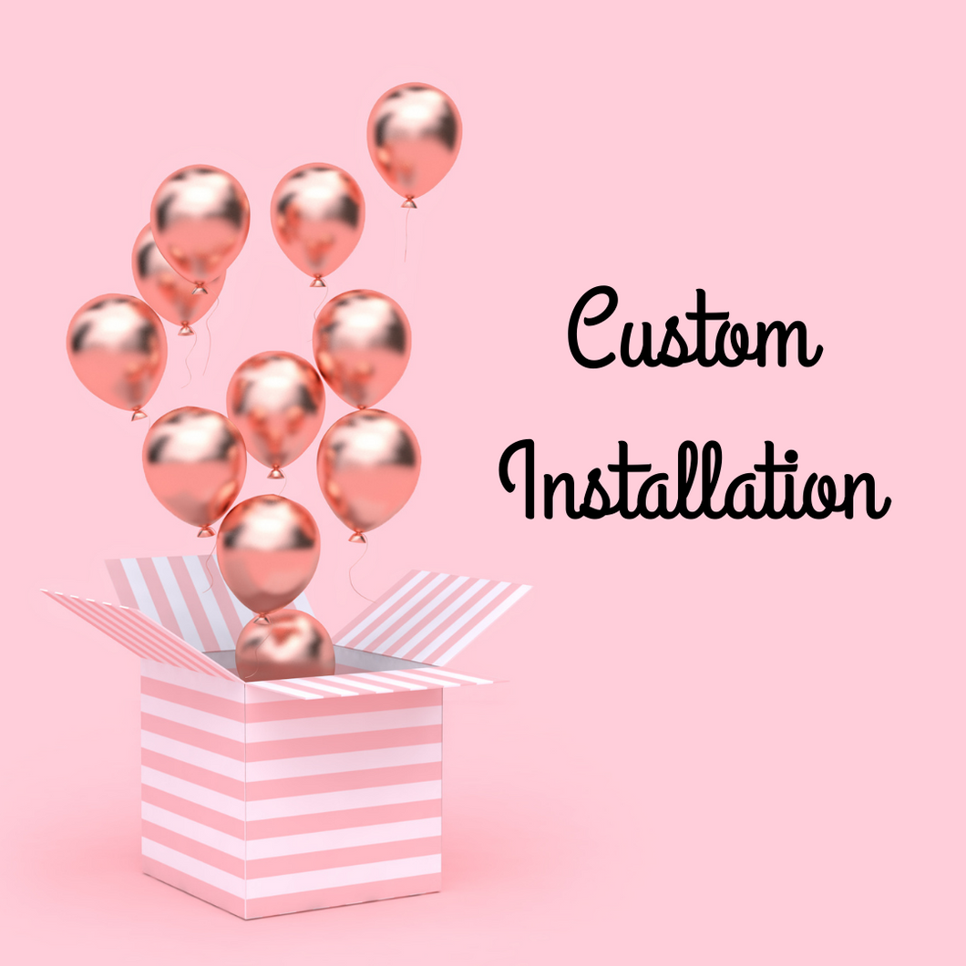 Custom balloon garland - China