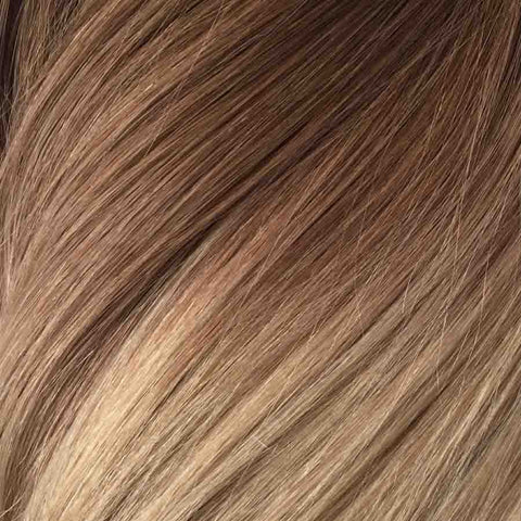 Klebe Extensions Ombre oder Mix Blonde