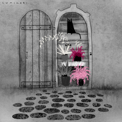 Old Door ✿ Art Print by Lumimari