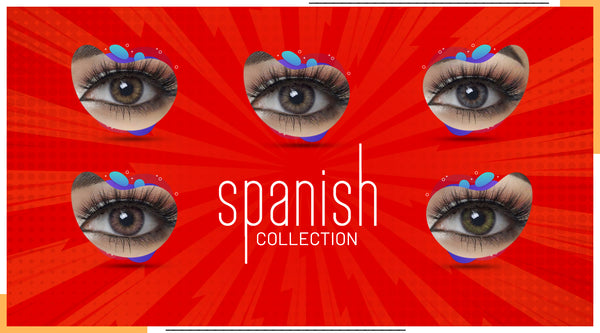 Witness Passion with New Spanish Colored Contacts