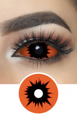 Omego Orange Sclera Lenses