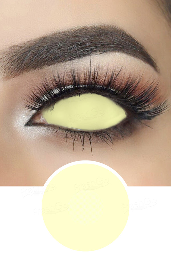 Blind Yellowish Sclera Lenses