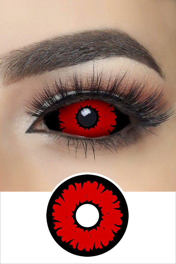 Angry Wolf Sclera Lenses