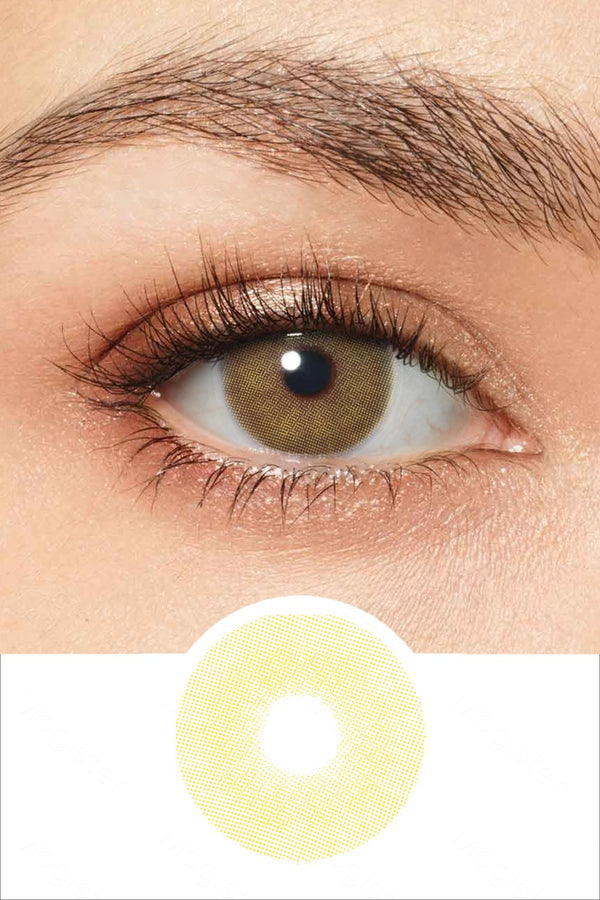 Sensual Brown Colored Contacts