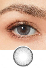 Radiant Exotic Gray Colored Contacts