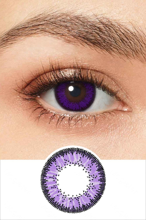 Desire Violet Colored Contacts