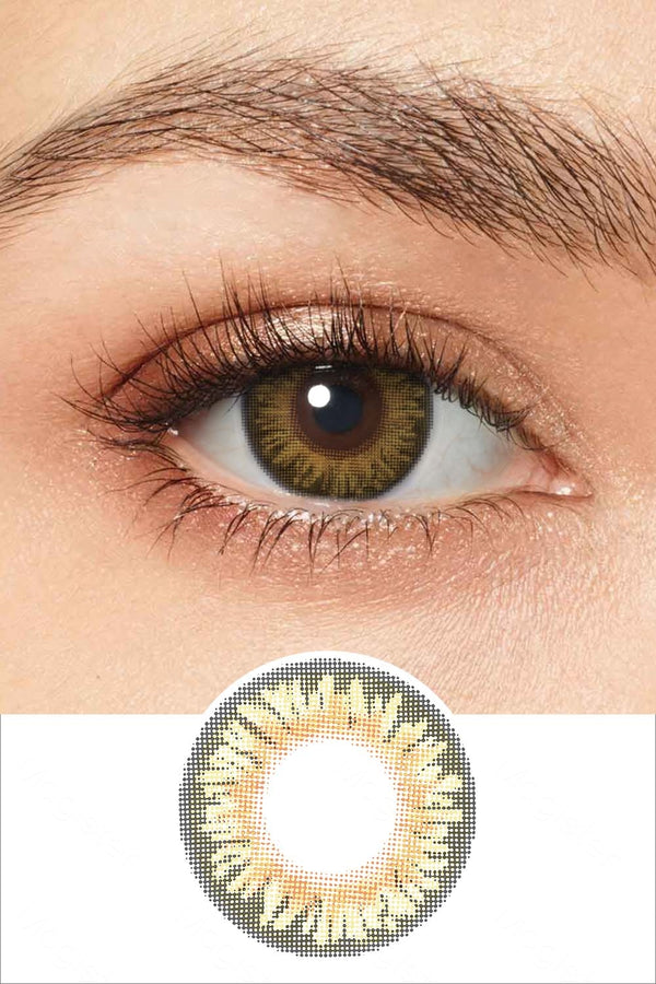 Natural Honey Colored Contacts