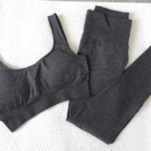Let's Workout Sports Bra and Leggings Set