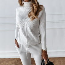 Load image into Gallery viewer, Cute & Cozy Winter Turtleneck Two Piece Set
