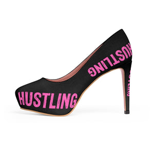 Huslting Chick Platform Pumps