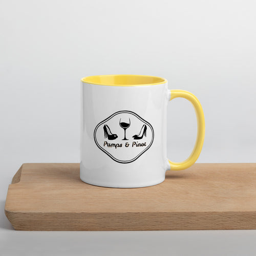 Yellow Tail Pumps & Pinot Branded Mug