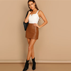 The Vivian V-Cut Sleeveless Bodysuit