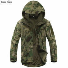Load image into Gallery viewer, New Digital Camouflage Tactical Gear Military Army Jacket Men Softshell Waterproof Hunting Clothes Winter Sport Outdoor Jackets