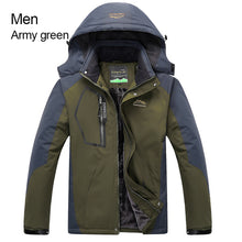Load image into Gallery viewer, RAY GRACE Jacket Women Men Winter Warm Hiking Outdoor Sport Rain Jacket Waterproof Windproof Thermal Thick Fishing Clothes