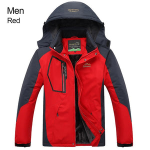 RAY GRACE Jacket Women Men Winter Warm Hiking Outdoor Sport Rain Jacket Waterproof Windproof Thermal Thick Fishing Clothes