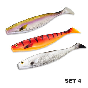 HUNTHOUSE big soft fishing lure pro shad lure berserk 180mm42g sea fishing saltwater bass fishing decoy for fishing pike zander