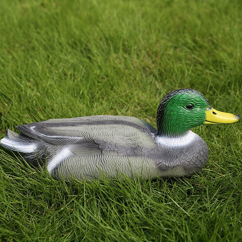Tactical Outdoor Duck For Hunting Target simulation Mallard for Hunting Decoy bait PE material Floating Fake male Duck