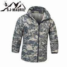 Load image into Gallery viewer, Quick-Dry Camouflage Tactical Jacket Army Hiking Hunting Jacket Skin Cloth Anti-UV Camping Hooded Coat