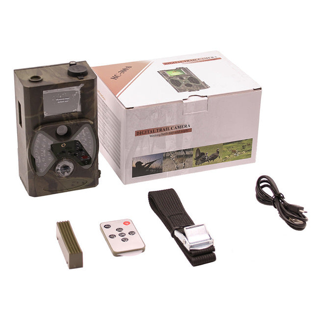 Suntek Photo Trap Deer Hunting Trail Camera 1080P  Night Vision Hunter Cameras Digital Infrared Cams HC300A