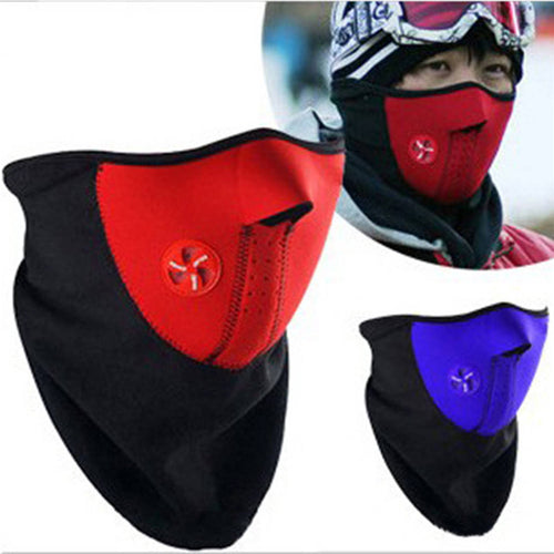 ROBESBON Face Protection Ear Mask Warm Windproof Dust And Cold Outdoor Ski Riding Protective Gear Masks 25*30*2CM 3 Colors