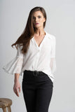 Ivory Stevie Blouse - Victoria Wright