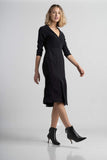 Black Sabrina Dress - Victoria Wright