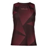 Indoor Cycling Jersey Giovo - Aubergine
