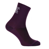 Cycling Socks - aubergine - FEARLESS. FEMALE. CYCLIST.