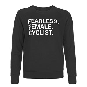 Sweater - FEARLESS. FEMALE. CYCLIST.