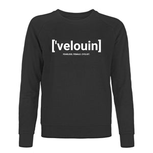 Sweater - ['velouin] Black