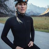 Attitude Thermal Jersey - Deep Black