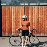 Shortsleeve Jersey Tourmalet - Rust Spray