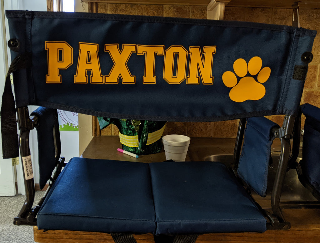 Customized Bleacher Chairs