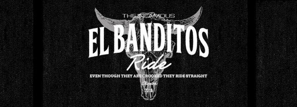 Banditos ride in the wild