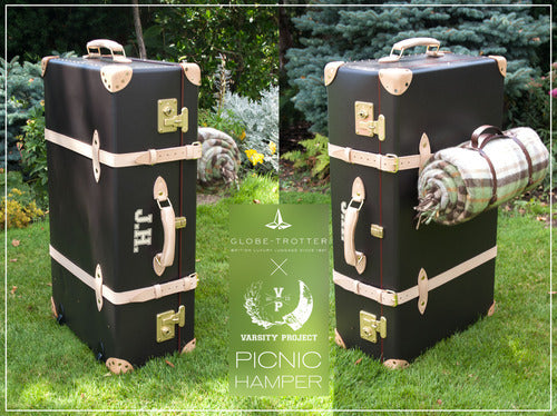 Picnic Hamper by Varsity Project x Globe Trotter