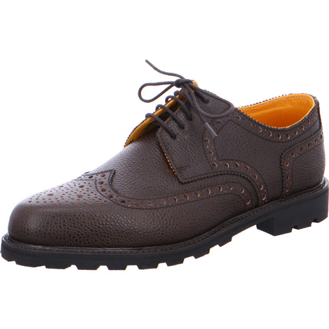 Ludwig Reiter Budapester Derby Scotch Grain Brown Leather
