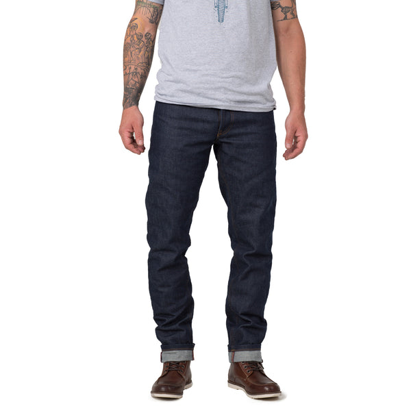 KLM Straight Fit 13oz Raw Denim Jeans