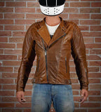 Obligue Horse Leather Jacket by Kalup