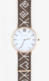 Andre Charles Rose Gold Watch Folklore Band