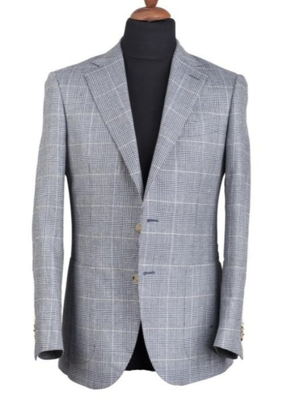 WOOL-LINEN SPORT JACKET 'Moon'