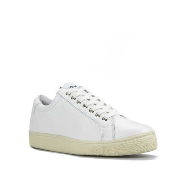 Novesta Itoh White Ecru Leather Sneaker